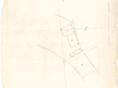 Figure 1: the coversheet for the Danish thin research records, drawn on trace paper and later digitized. Recall that no action was taken in plot D.