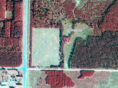 Post treatment 2012 color infrared aerial